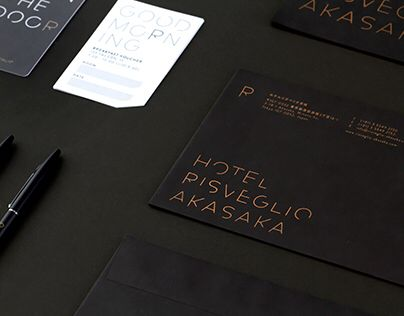 23 best business card images on pinterest card printing luxury the name of the hotel risveglio meaning awakening in italian is the very concept the identity stands for implying the reheart Choice Image