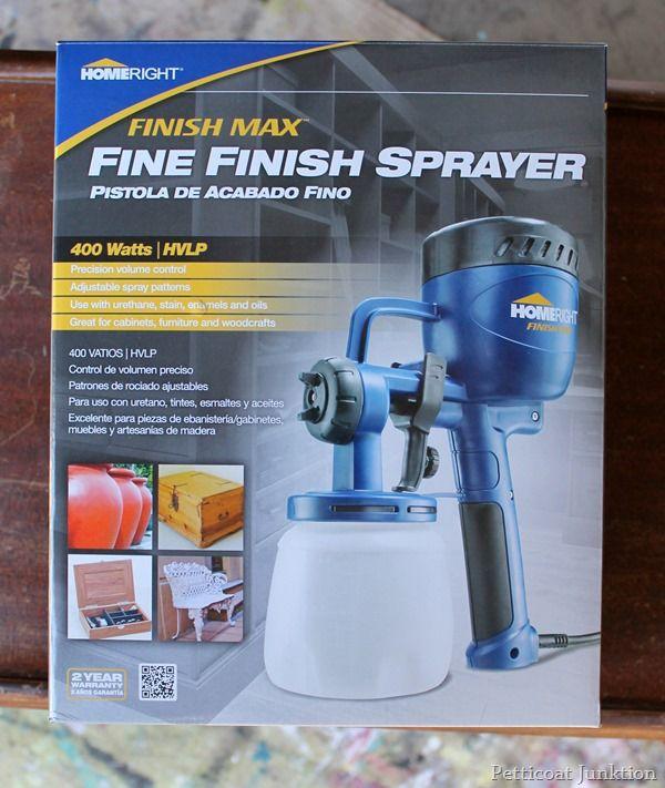 HomeRight Finish Max Fine Finish Sprayer, My new best friend. I love this sprayer, Petticoat Junktion #homeright