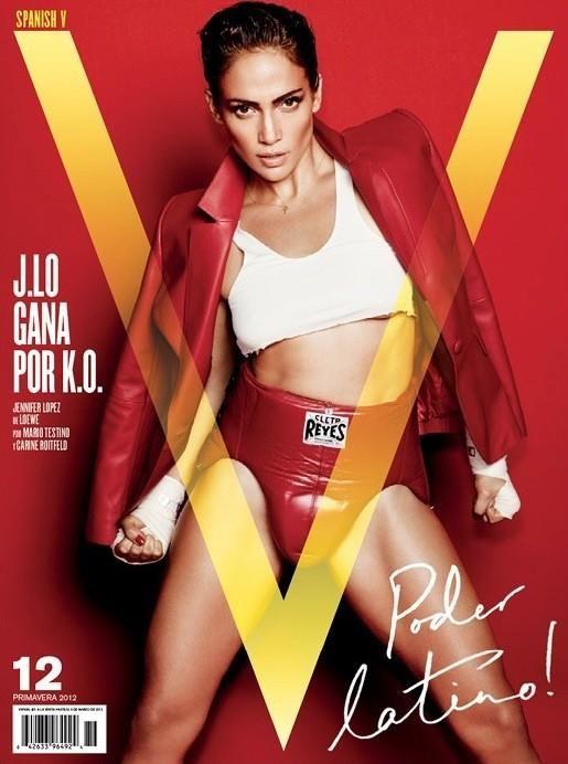 Jennifer Lopez - V Magazine Spain - V Magazine Spain S/S 12 Cover