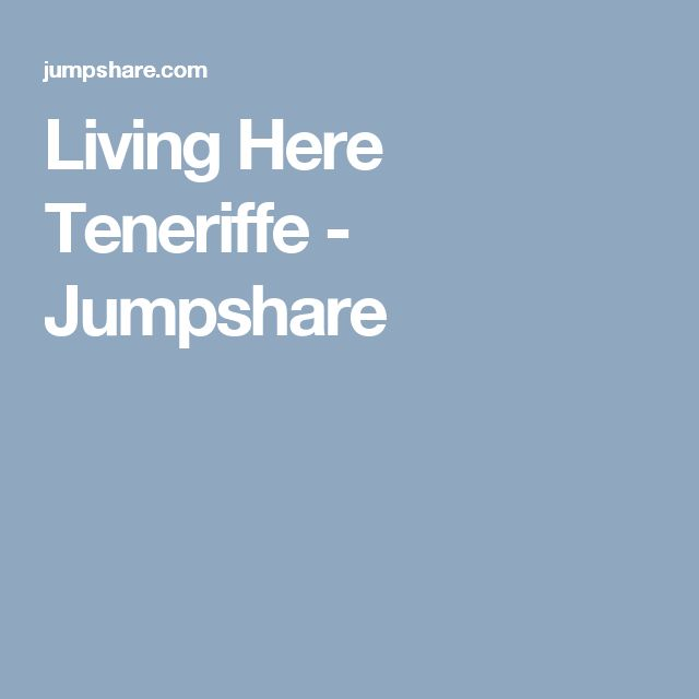 Living Here Teneriffe - Jumpshare