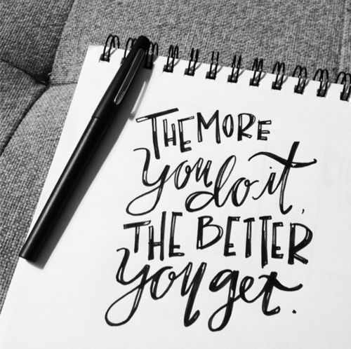 20 USD 30 Days To Better Hand-Lettering E-Course that covers all the basics, especially how to digitize hand lettered work