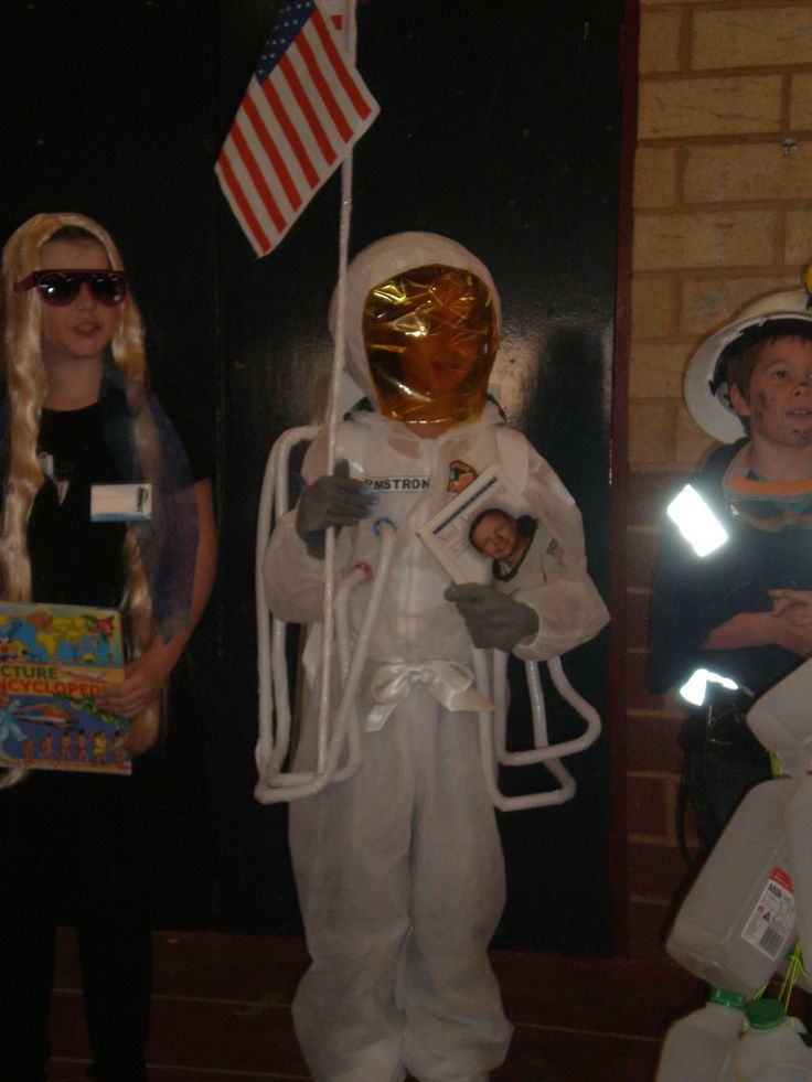 Dressed as Neil Armstrong with pride!