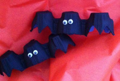 Halloween crafts #netmums #bats #halloween #crafts
