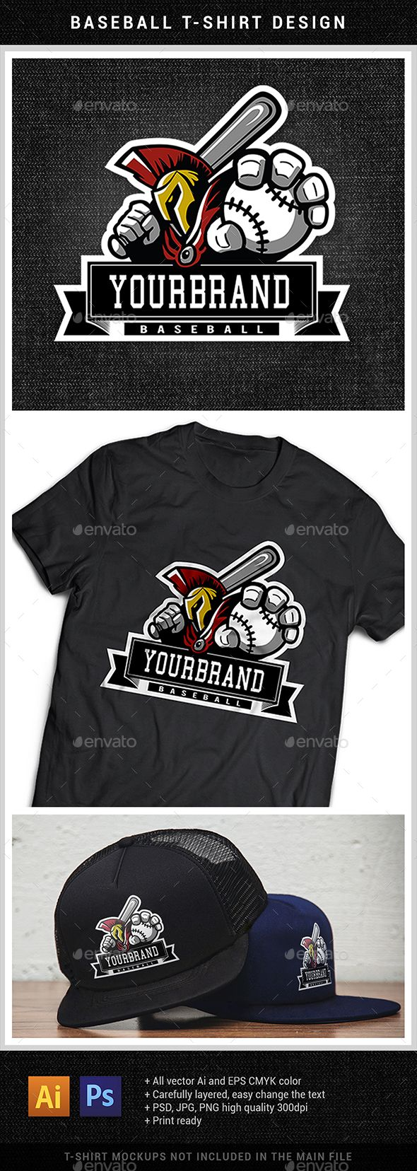 Baseball T Shirt Design