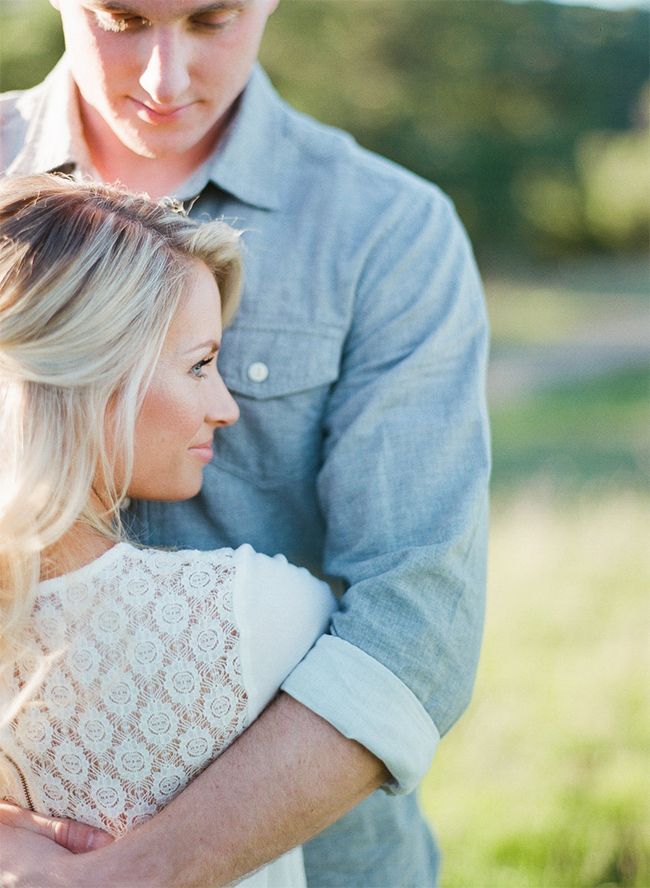 Romantic Rustic Engagement Photos