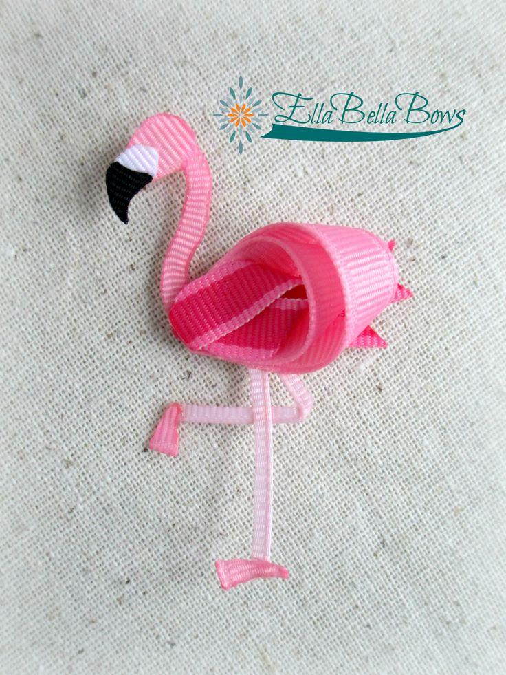 Ribbon Flamingo