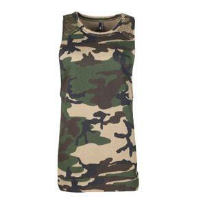 Nouvelle collection printemps-été 2014  Tee shirt Unkut Femme - Top Killer Camo Khaki