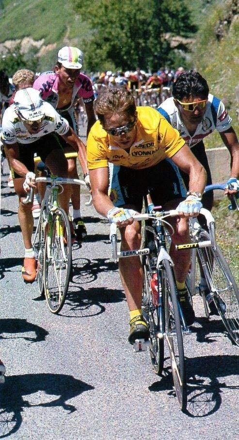 Tour de France 1991: Lemond and Chiappucci