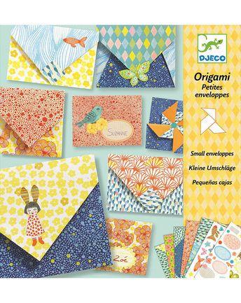 Origami-Set KLEINE UMSCHLÄGE 26-teilig in bunt von Djeco ✔ Kurze Lieferzeit ✔ Gleich bei tausendkind kaufen!