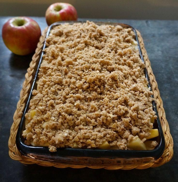 Stayman-Winesap Apples and Aromatic Apple Oat Crisp #Wolff'sAppleHouse #apples #FallFlavors