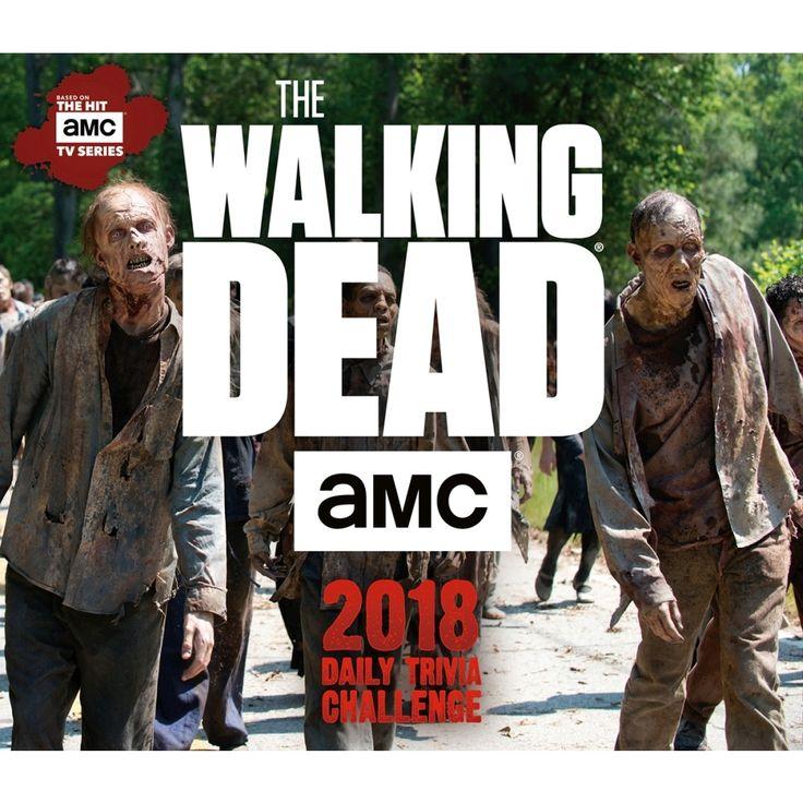 Walking Dead Trivia 2018 Desk Calendar