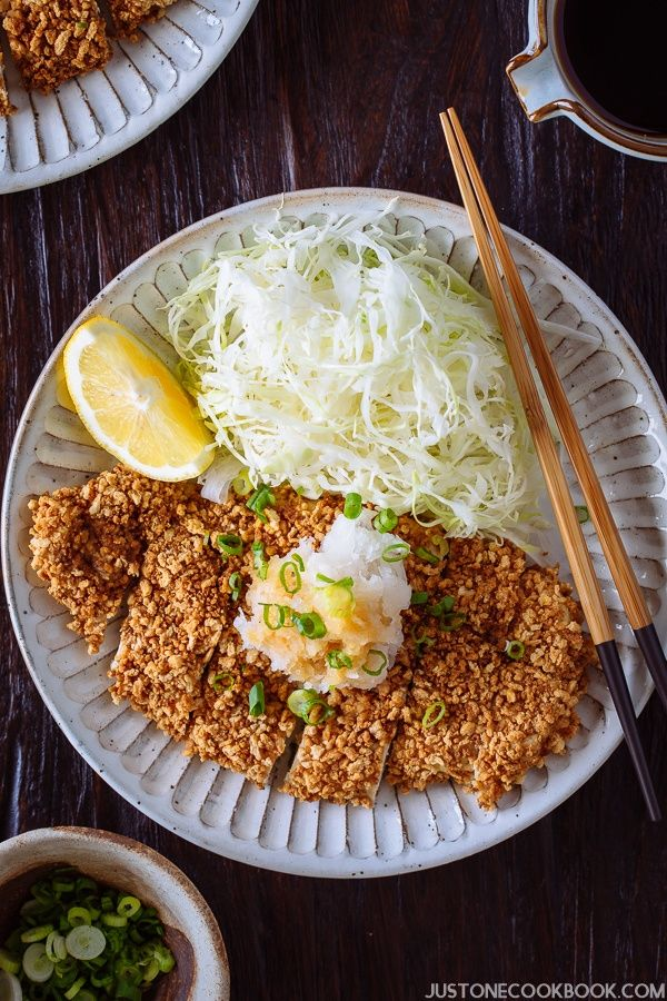 Gluten Free Baked Chicken Katsu グルテンフリー揚げないチキンカツ   Easy Japanese Recipes at JustOneCookbook.com