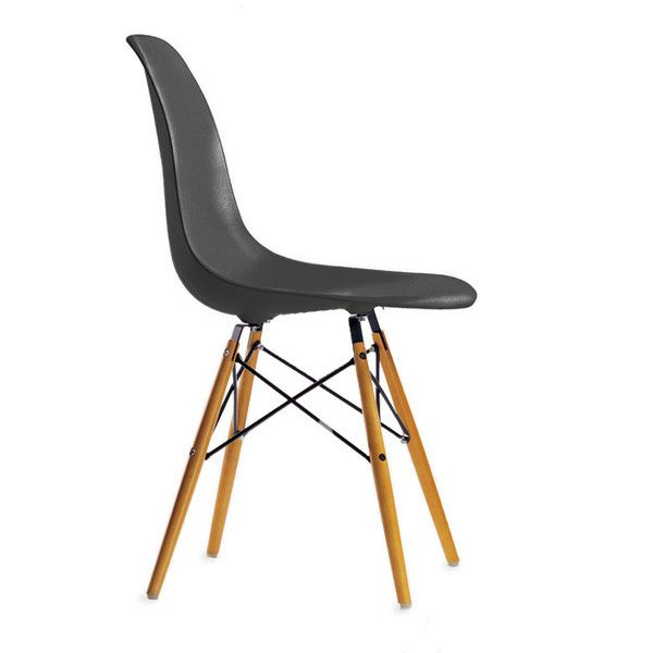 Vitra Eames DSW Plastic Side Chair found on Polyvore