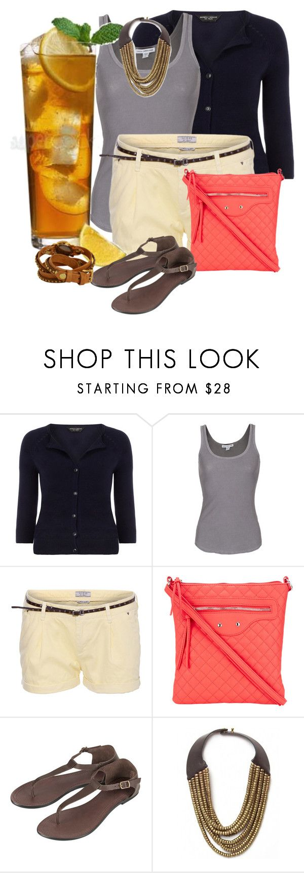 """""""It's 5 O'Clock Somewhere Contest #2"""" by lifebeautiful ❤ liked on Polyvore featuring Dorothy Perkins, James Perse, GUESS, Wallis, Topshop, Hoss Intropia and La Mer"""