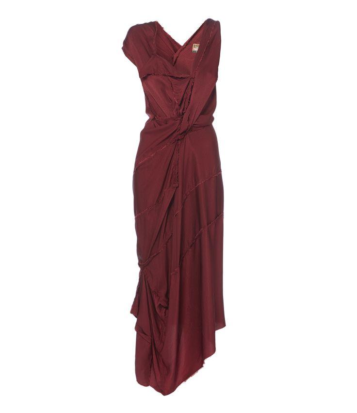 VIVIENNE WESTWOOD Silk Cartie' Dress. #viviennewestwood #cloth #