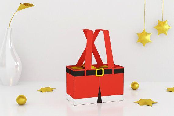 Faveur de pantalon BRICOLAGE père Noël fête de par GazabPitara