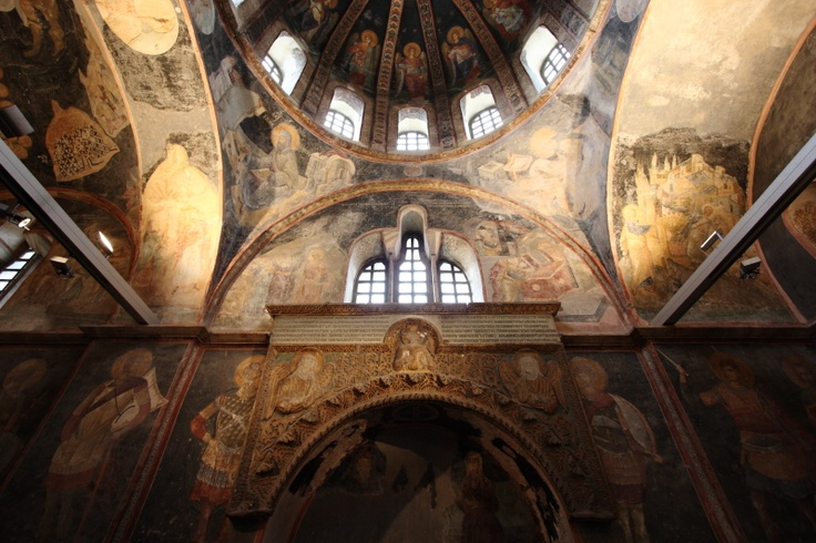 Chora Museum and Church, Edirnekapi, Istanbul, Turkey