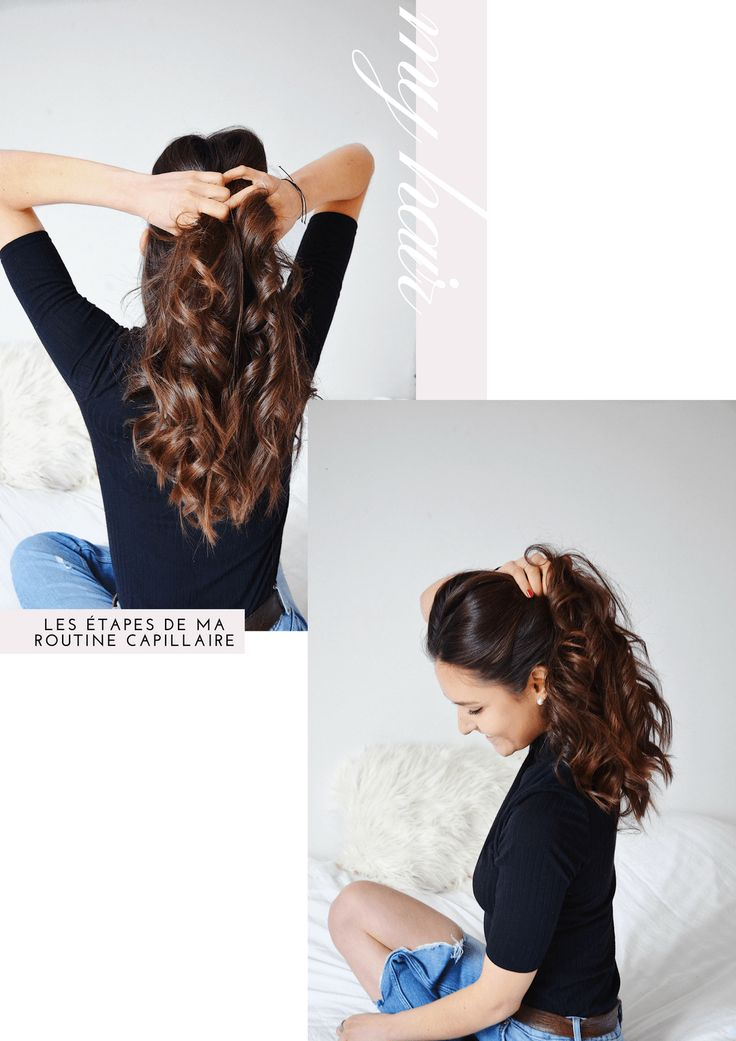 Ma routine cheveux : my hair don't care http://unepresqueparisienne.com/my-hair-dont-care/