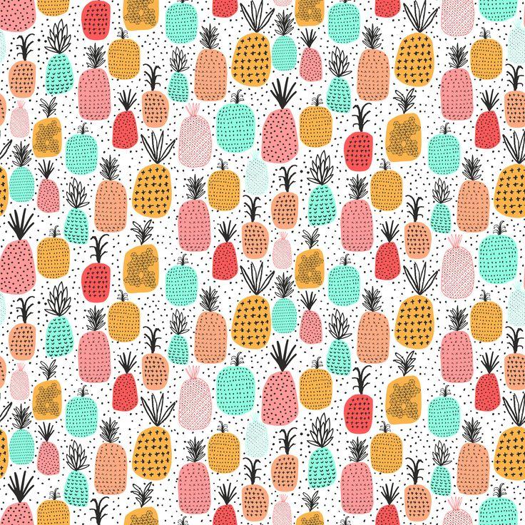 64 besten ananas designs stoffe geschenkpapier. Black Bedroom Furniture Sets. Home Design Ideas