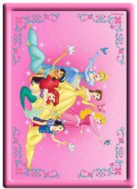 Dibujos Disney para imprimir princesas