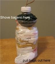 plastik zakken bewaren