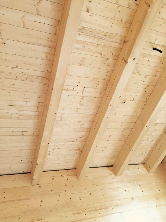 Stiamo costruendo una casa in legno Rubner ad Apiro(Mc)