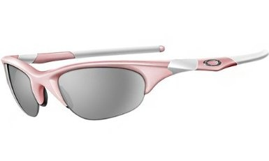 oakley womens half jacket asian fit sunglasses  amazon: oakley womens half jacket asian fit sunglasses (pink frame/grey lens): clothing
