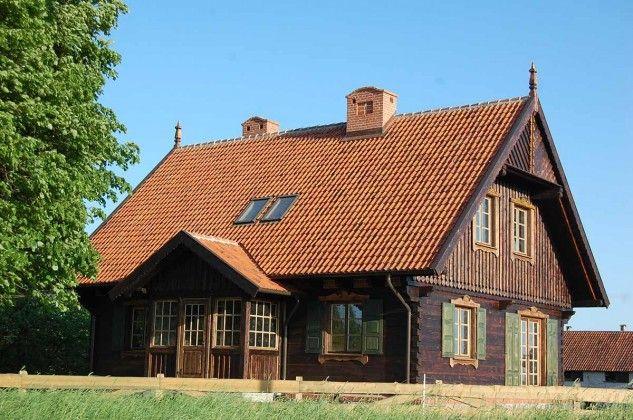 Dom drewniany – projekt po remoncie