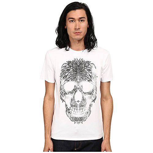 (ジャスト カヴァリ) Just Cavalli メンズ トップス 半袖シャツ Short Sleeve Feather Skull Graphic Super Slim Tee 並行輸入品  新品【取り寄せ商品のため、お届けまでに2週間前後かかります。】 表示サイズ表はすべて【参考サイズ】です。ご不明点はお問合せ下さい。 カラー:White 詳細は http://brand-tsuhan.com/product/%e3%82%b8%e3%83%a3%e3%82%b9%e3%83%88-%e3%82%ab%e3%83%b4%e3%82%a1%e3%83%aa-just-cavalli-%e3%83%a1%e3%83%b3%e3%82%ba-%e3%83%88%e3%83%83%e3%83%97%e3%82%b9-%e5%8d%8a%e8%a2%96%e3%82%b7%e3%83%a3%e3%83%84-5/