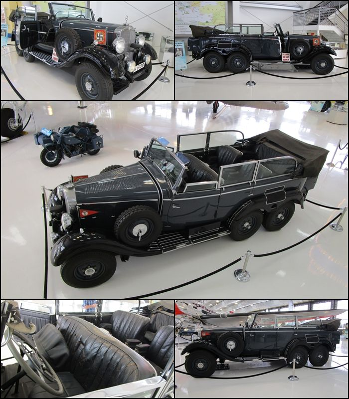 1939 Mercedes Benz Model G4 Offener Touring Wagon Chassis
