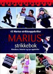 Marius strikkebok (Innbundet)