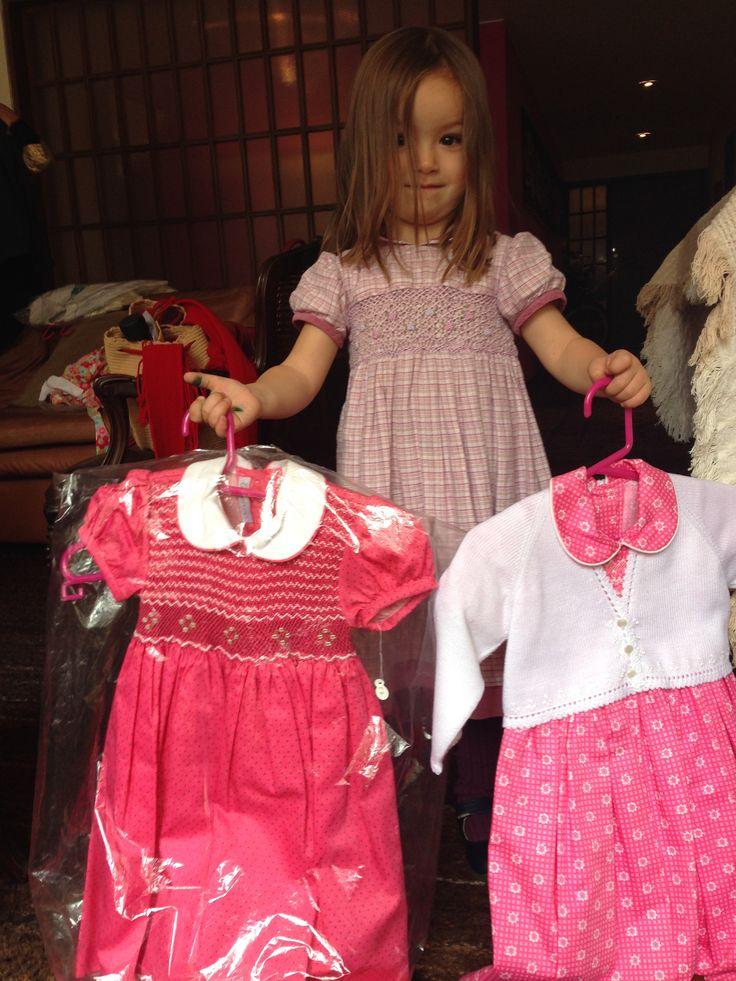 #vestidos#tonosrosados#blancos#niñas