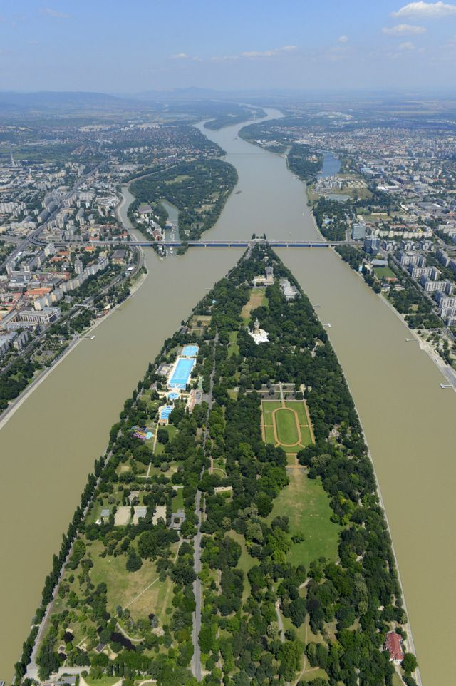 Margaret Island of Budapest, Hungary