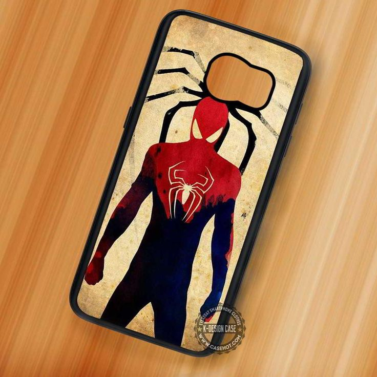 Vintage Spiderman Marvel Comics - Samsung Galaxy S7 S6 S5 Note 5 Cases & Covers
