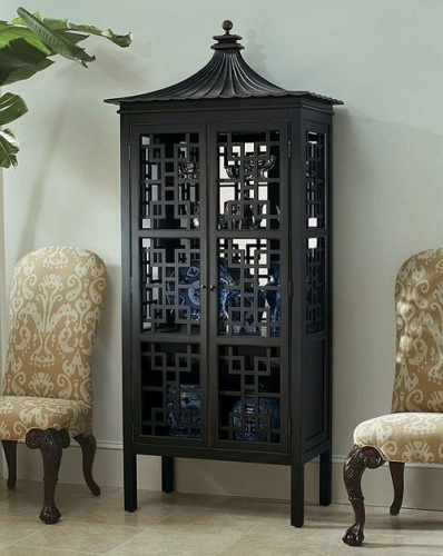Oscar de la Renta Collection Pagoda Bar Cabinet.  I would like to own this.