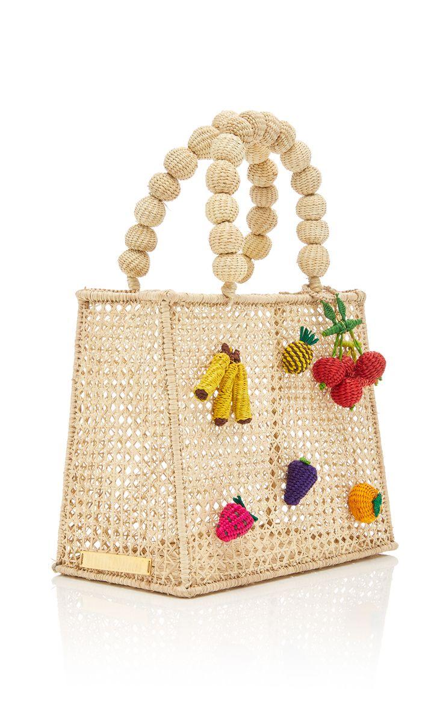 Cartera Tutty Frutty Bag by MERCEDES SALAZAR for Preorder on Moda Operandi