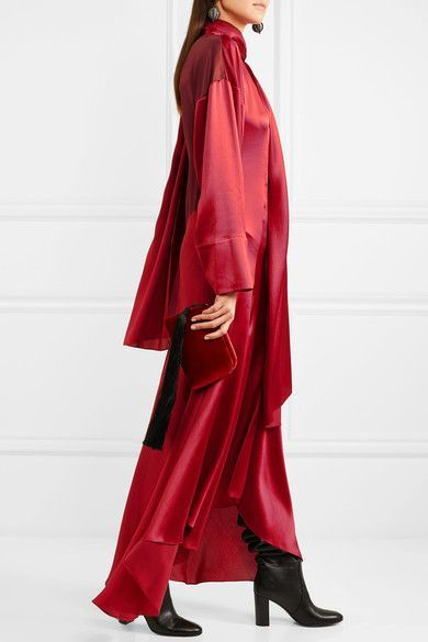 Silk satin wolf rockabilly dress images