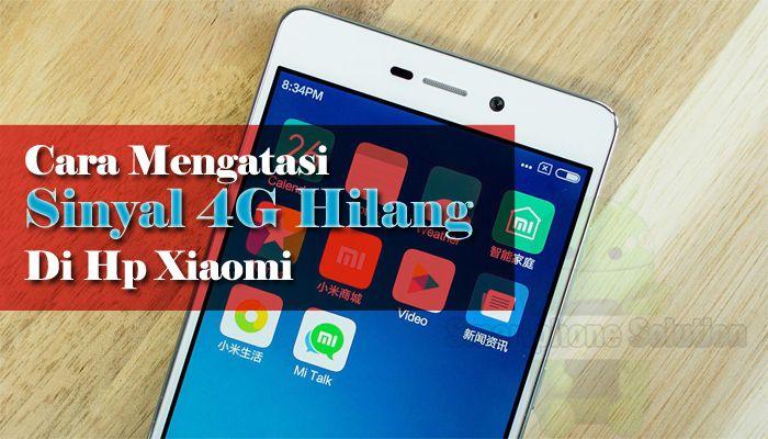Pilihan Menu 4g Tidak Muncul Di Hp Xiaomi Smartphone Iphone Ponsel