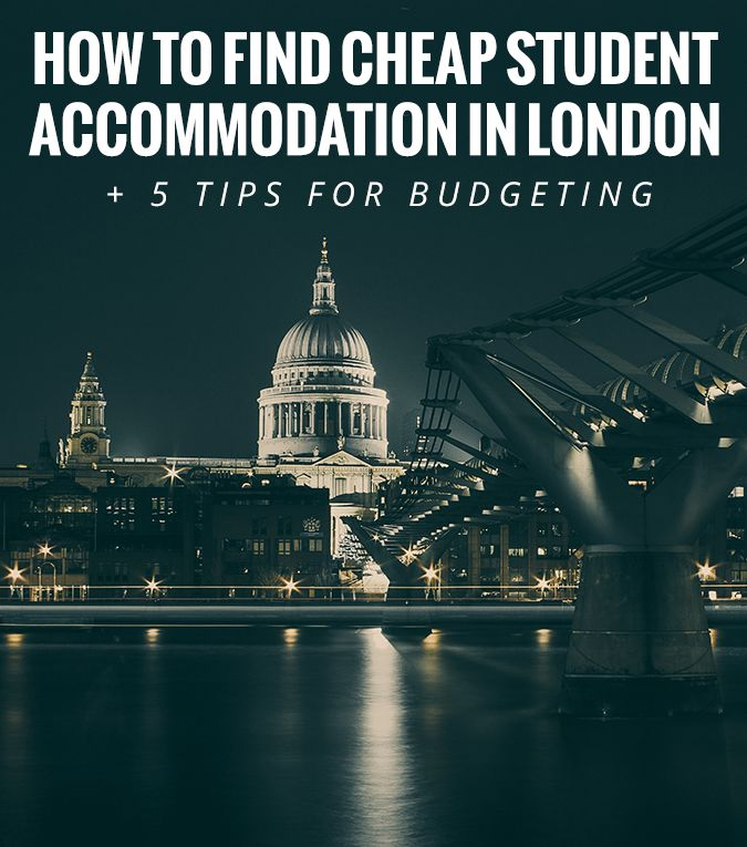 The hunt for cheap student accommodation in London was probably the longest part of my moving process, but low and behold, eventually I...