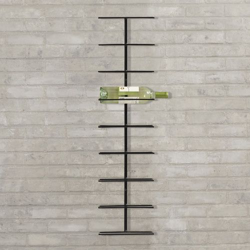 Found it at AllModern - Elton 9 Bottle Wall Mounted Wine Rack