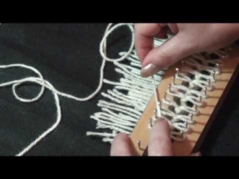 TEAR DE PREGOS - PONTO CANELADO - PASSO A PASSO COM LU HERINGER - YouTube