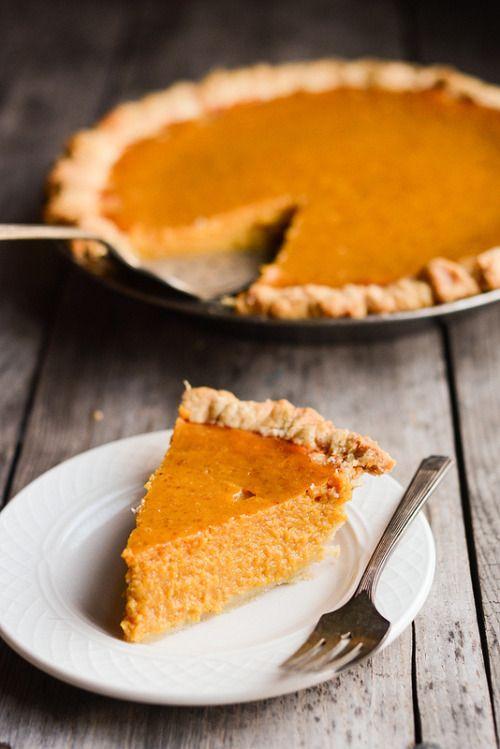 la-food:  Perfect Pumpkin Pie - Recipe here