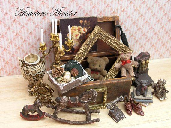 Segreti di casa delle bambole in miniatura della di Minicler