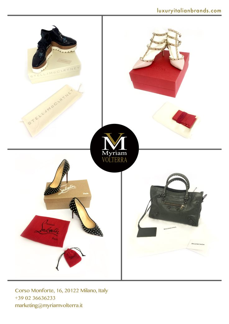 Another series of the most elegant shoes and bags have arrived at our #luxury #buying #office,welcome to contact us for any information you may need. TEL: +39 02 36636233  EMAIL: marketing@myriamvolterra.it  WEB: luxuryitalianbrands.com  ADRESS: Corso Monforte, 16, 20122 Milano, Italy.
