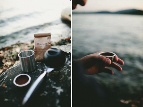 ...lets camp on the beach and make coffee as the sun rises.