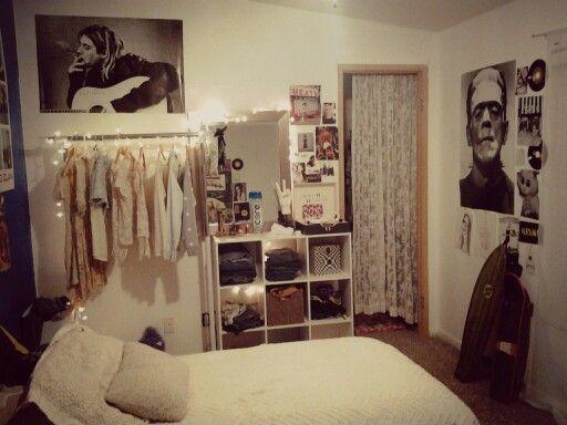 Soft grunge bedroom