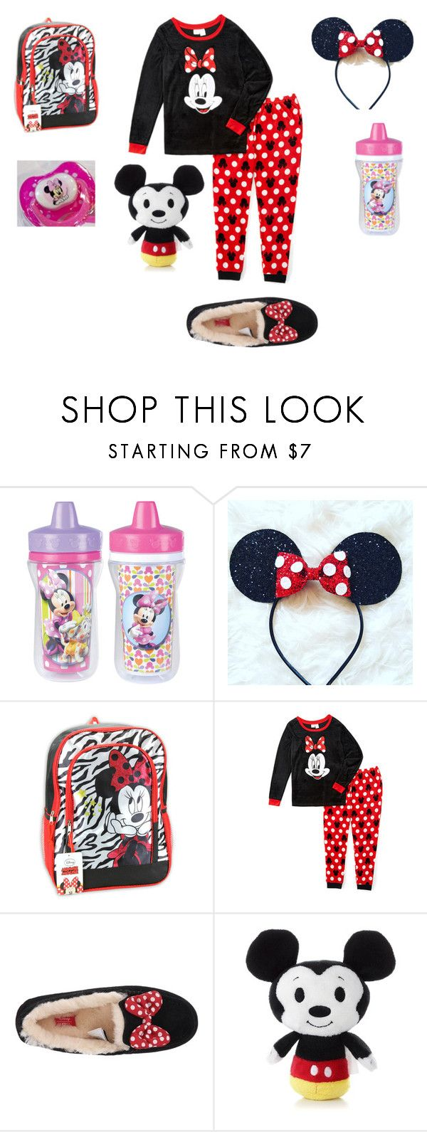 """Little`s Bedtime (DD/lg)"" by keona-merry ❤ liked on Polyvore featuring Disney, Nickelodeon and UGG Australia"
