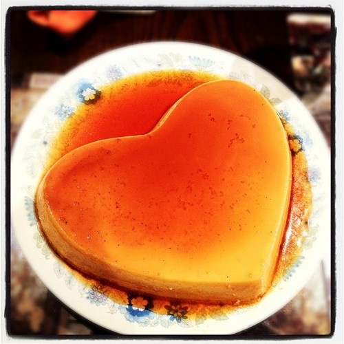 Creme Caramel - using a mix of recipes from Nigel Slater and Great British Bake Off