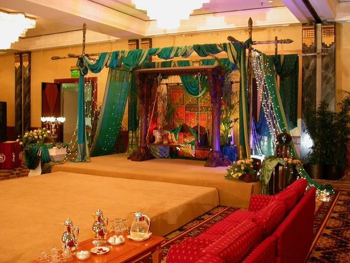 Background Arabic Wedding Stages Stage Decorations