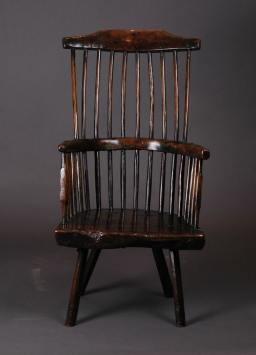 Welsh Primitive Stick Chair Circa 1800